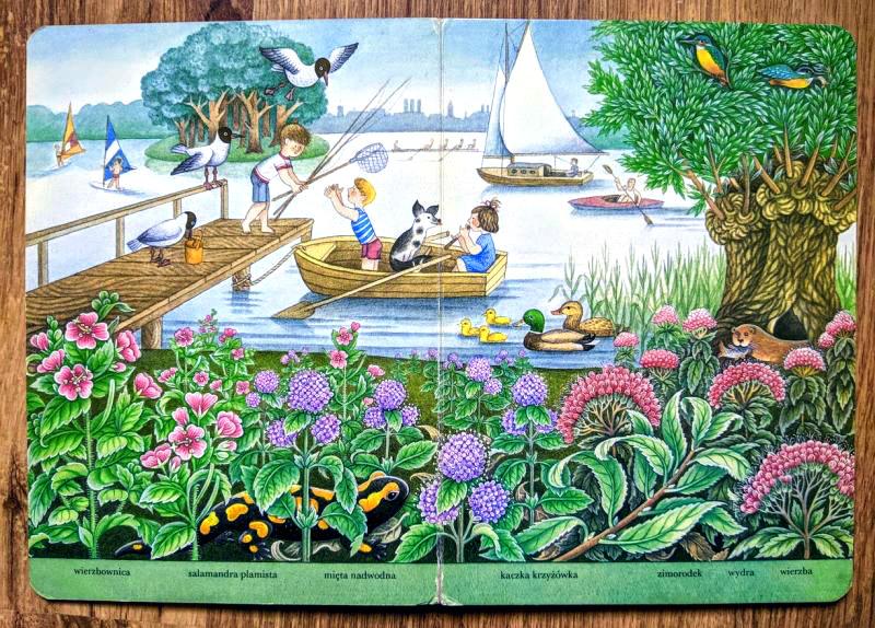 Brigitte Schleusing - Sommersee (Letnie jezioro/ Summer Lake)
