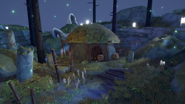 Hidden Paws Mystery - strange island