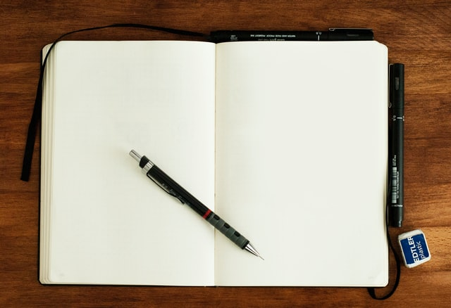 Blank sketchbook - or how to scare an artist.