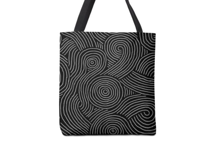 """Zen Maze"" tote bag"