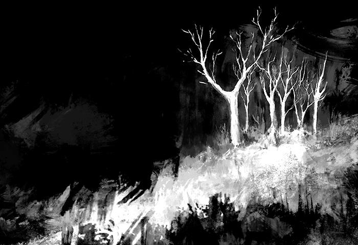 """Dark Woods"" by Justyna Dorsz"