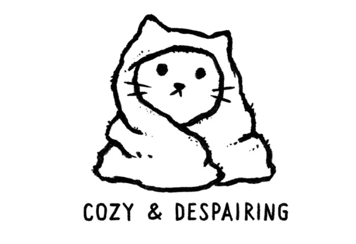 Cozy and Despairing - by Justyna Dorsz