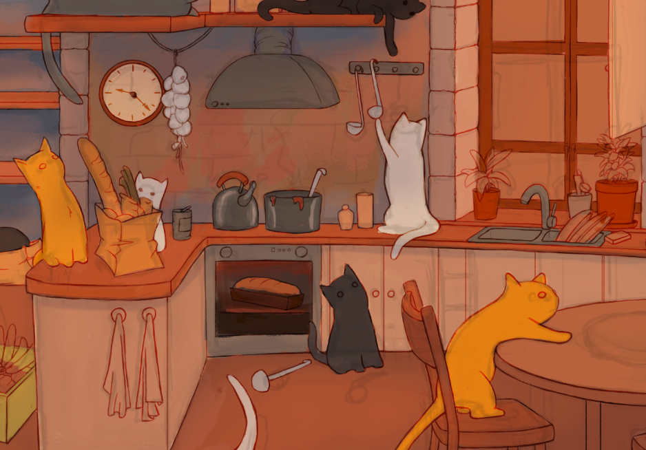 House of Cats - by Justyna and Rafal Dorsz (Work in Progress)