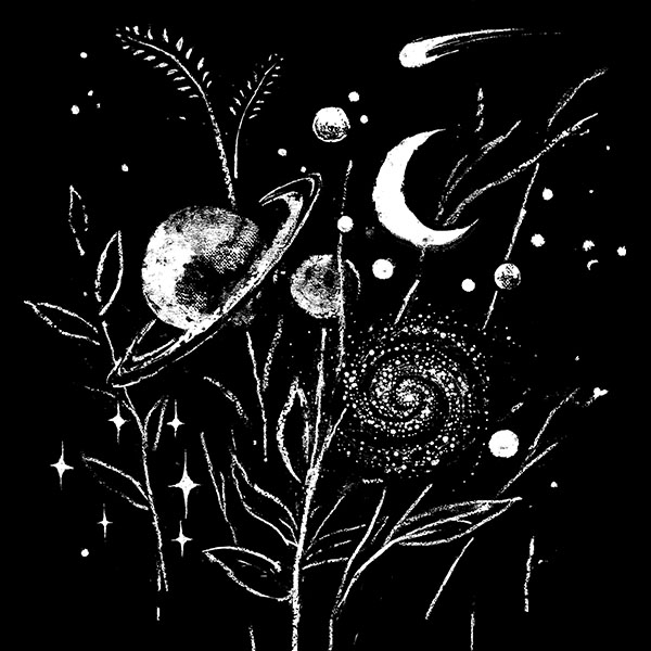 """""""Space Botanica"""" by Justyna Dorsz"""