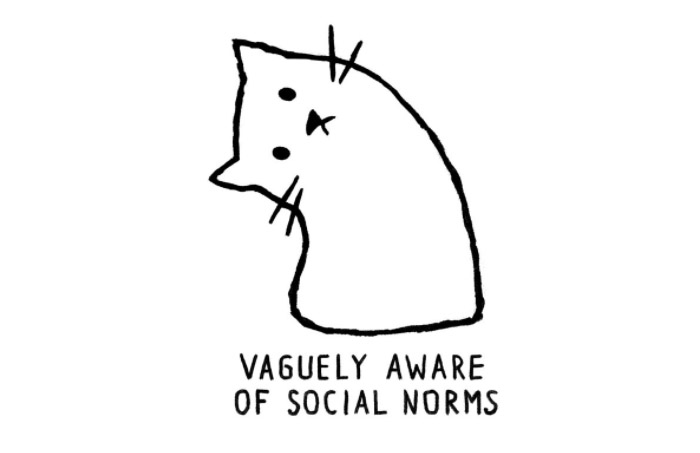 """""""Vaguely Aware of Social Norms"""" by Justyna Dorsz"""