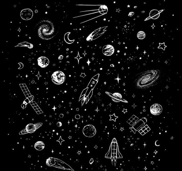 """""""Space Stuff"""" by Justyna Dorsz"""